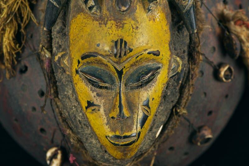 Máscara africana fotos de stock