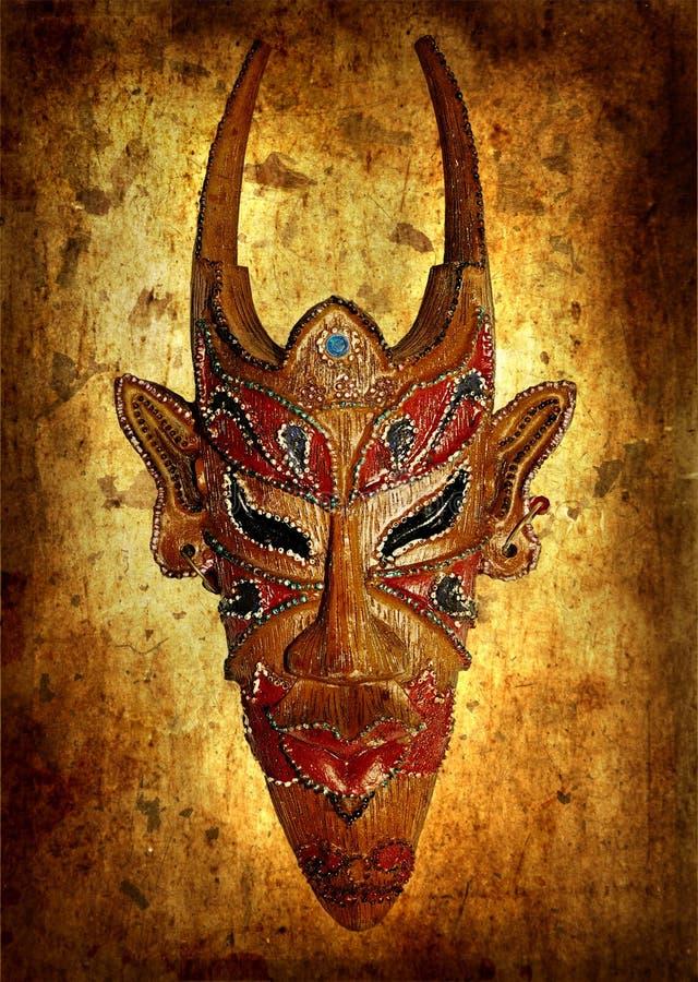 Máscara africana imagem de stock royalty free