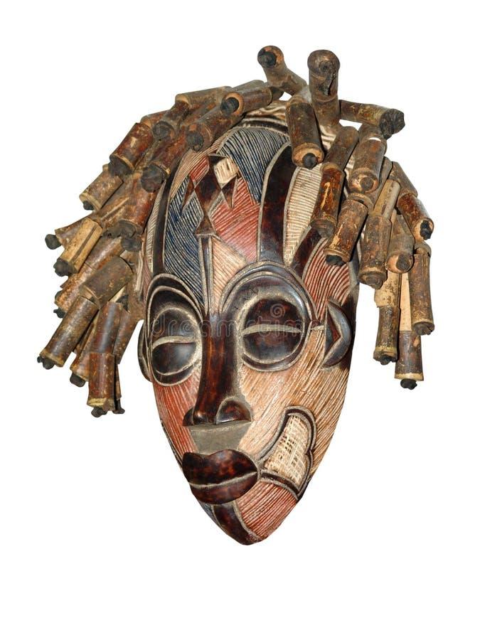 Máscara africana imagens de stock