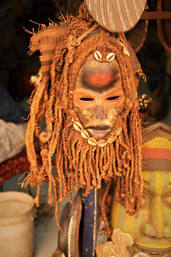 Máscara africana imagens de stock royalty free