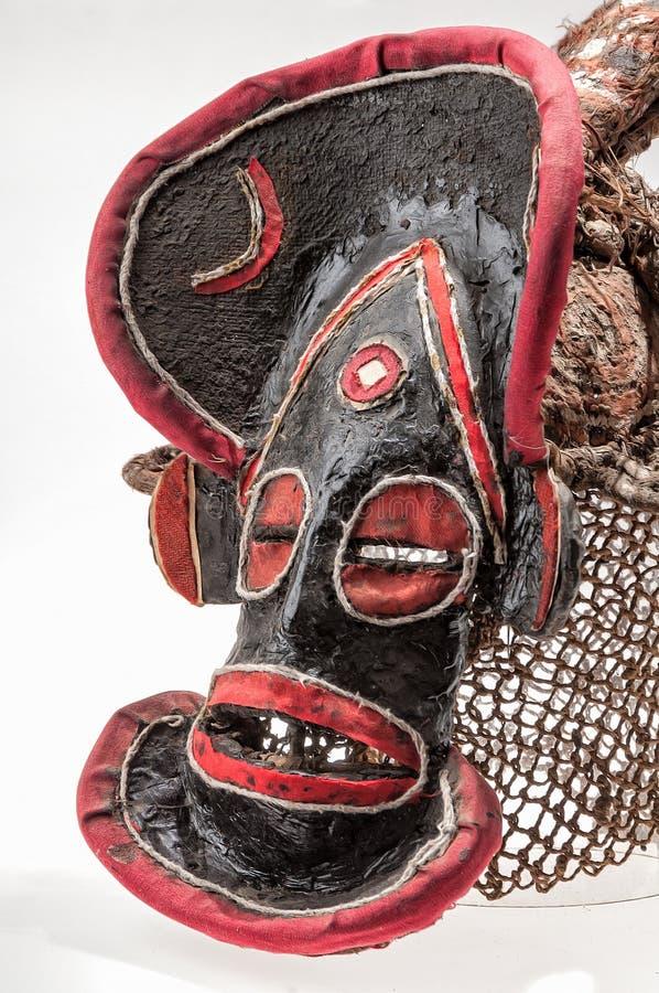 Máscara africana do pano, tradicional foto de stock royalty free