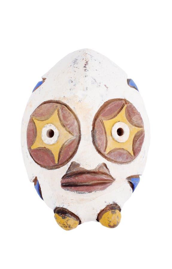 Máscara africana tribal fotografía de archivo