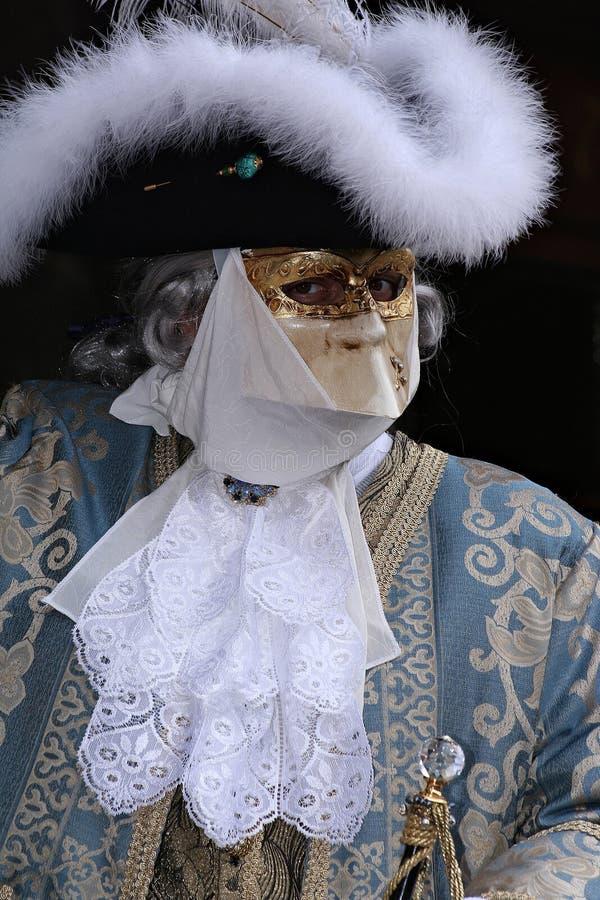Máscara barroca imagens de stock