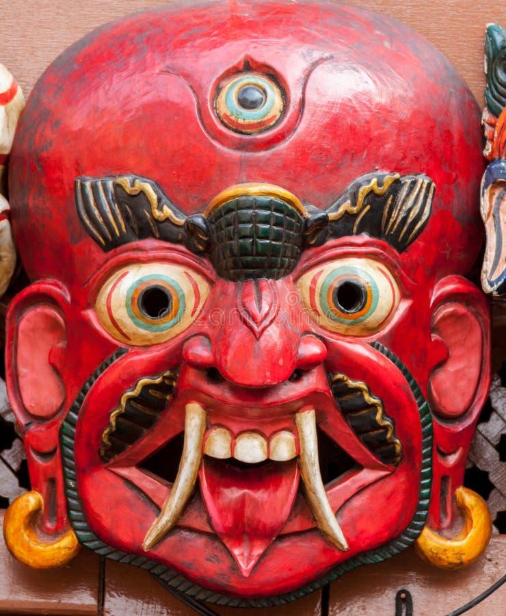 Máscara budista fotografía de archivo