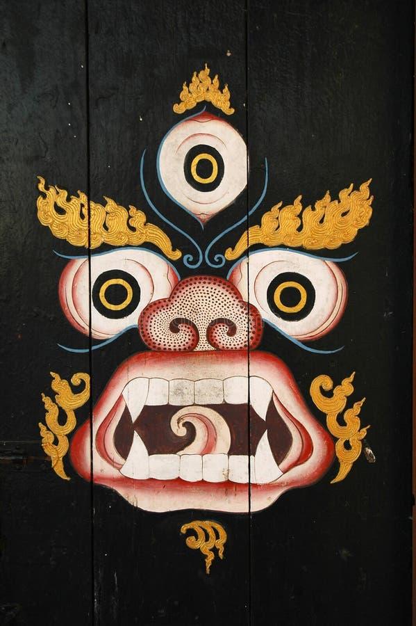 Máscara budista foto de archivo libre de regalías