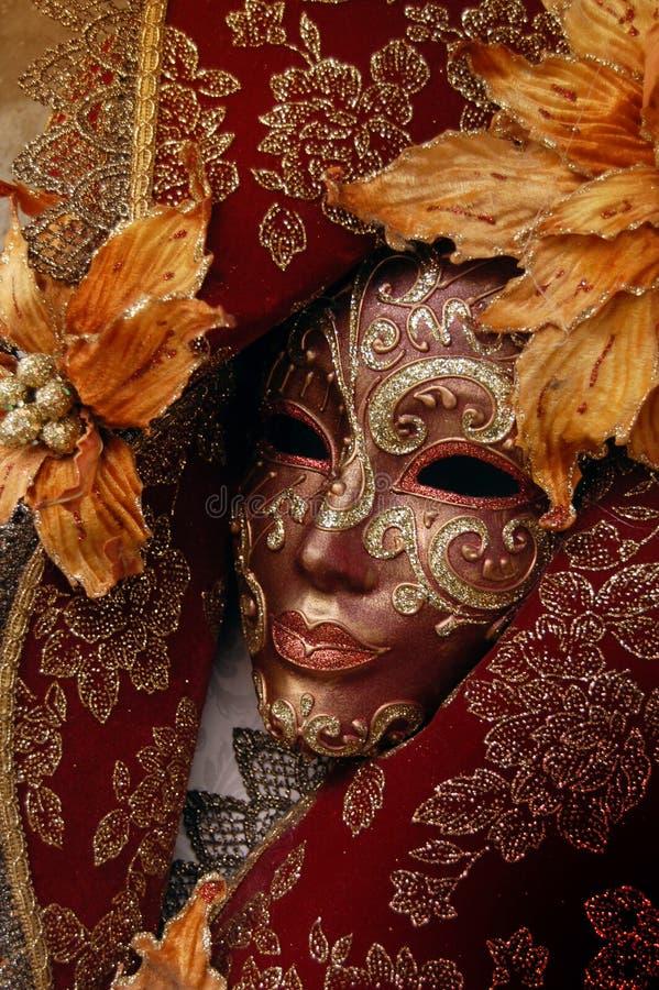 Máscara carneval veneciana imágenes de archivo libres de regalías
