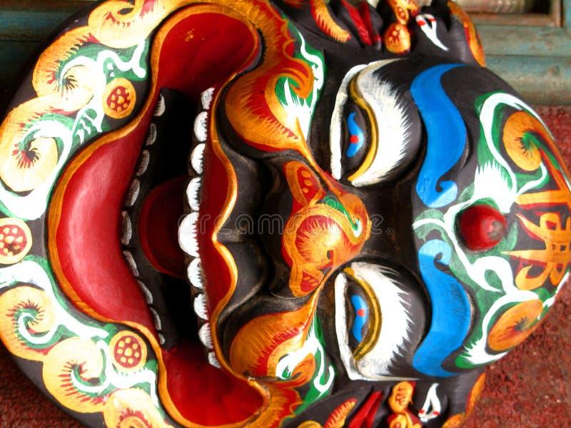 Máscara chinesa imagens de stock