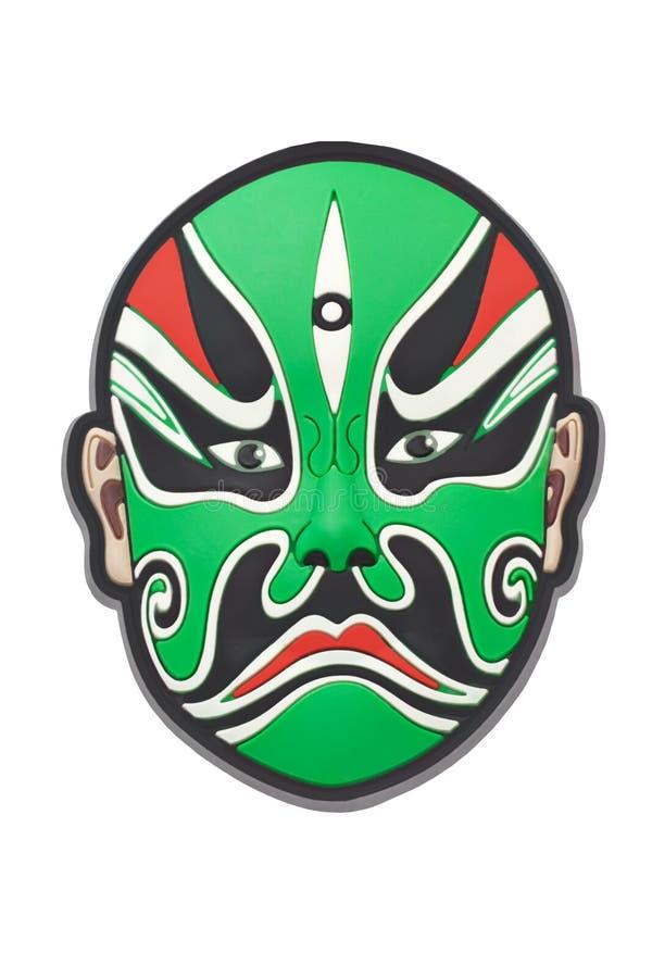Máscara chinesa da ópera de Beijing fotografia de stock royalty free