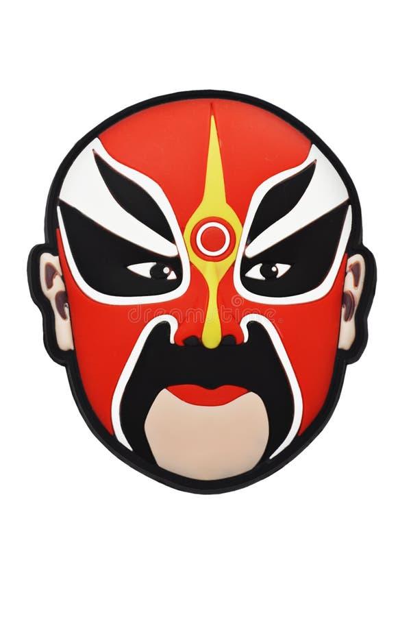 Máscara chinesa da ópera de Beijing foto de stock royalty free