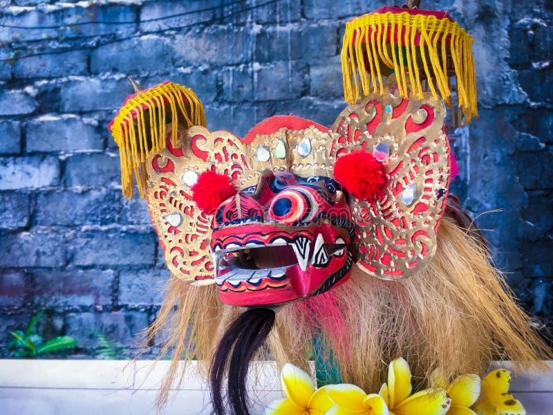 Máscara colorida do Balinese imagem de stock royalty free