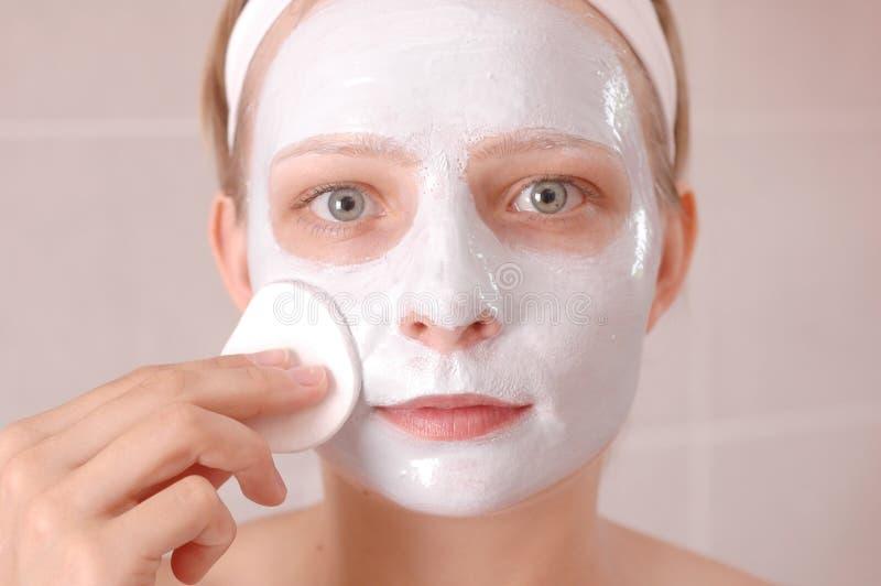 Máscara da beleza foto de stock royalty free