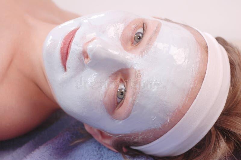 Máscara da beleza imagem de stock royalty free