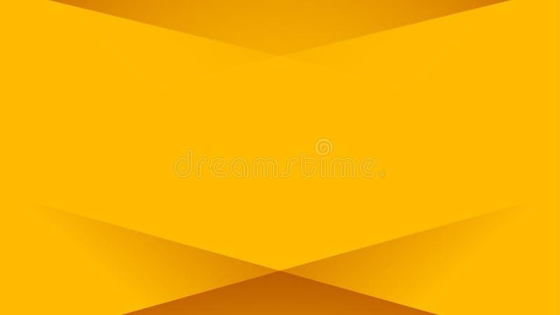 Máscara da cor amarela ilustração stock