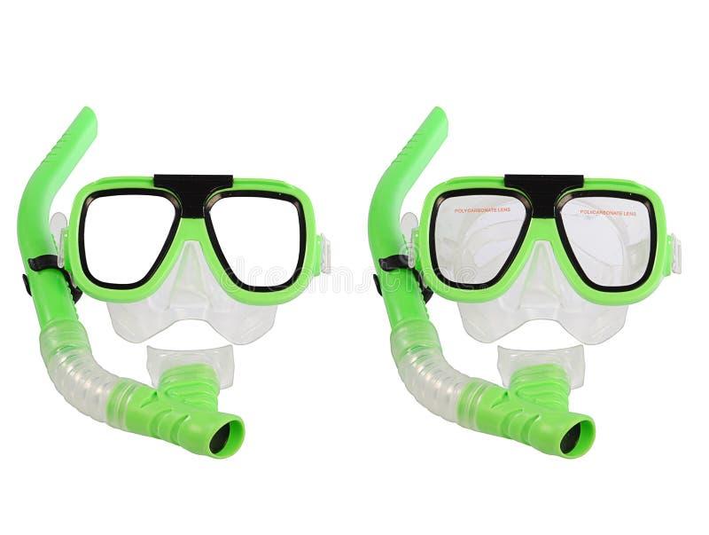 Máscara da natação fotografia de stock royalty free