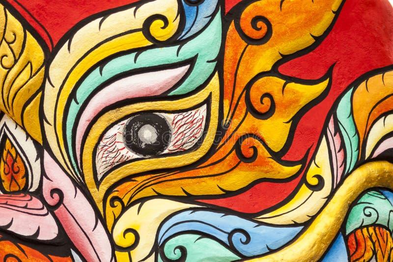 Máscara da phi Ta Khon fotografia de stock