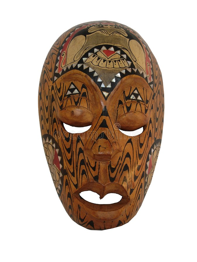 Máscara de #2 Haiti. fotos de stock