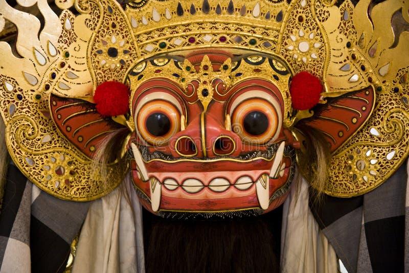 Máscara de Barong fotos de archivo libres de regalías