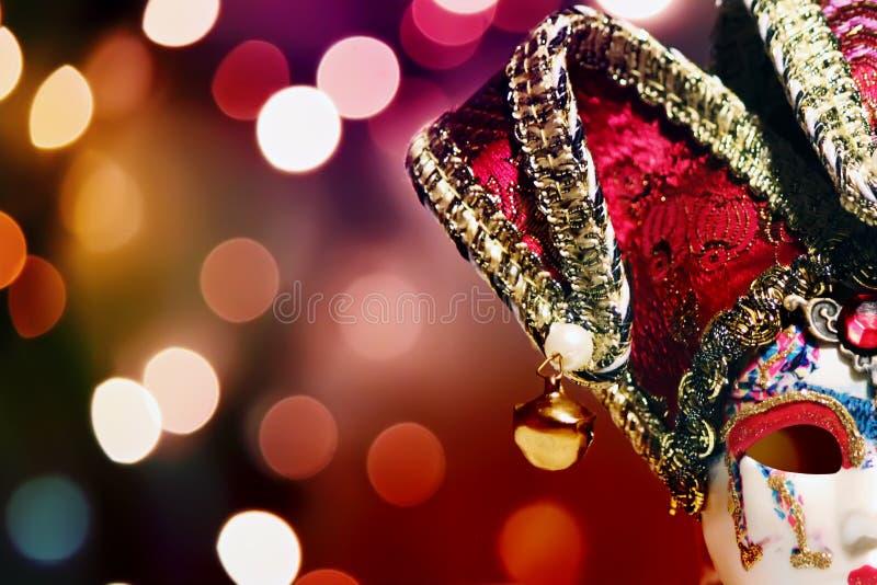 Máscara de Carnaval fotografia de stock royalty free