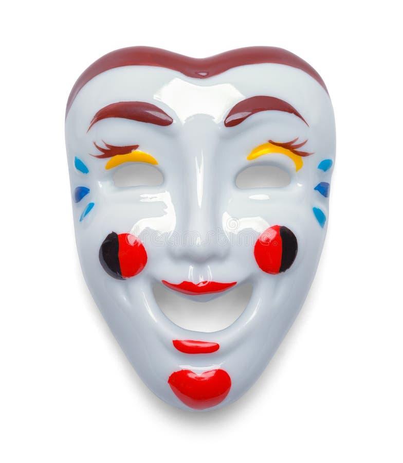 Máscara de comedia imágenes de archivo libres de regalías