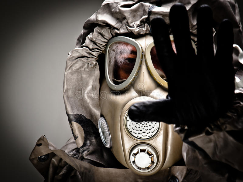 Máscara de gás 1 fotos de stock royalty free