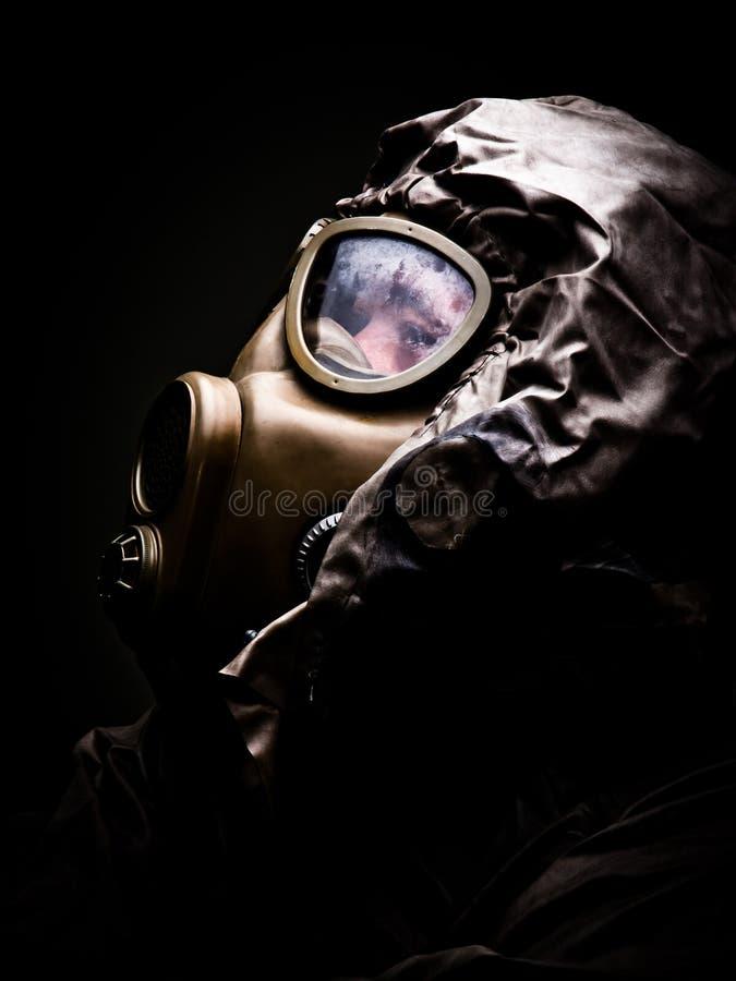 Máscara de gás 4 foto de stock