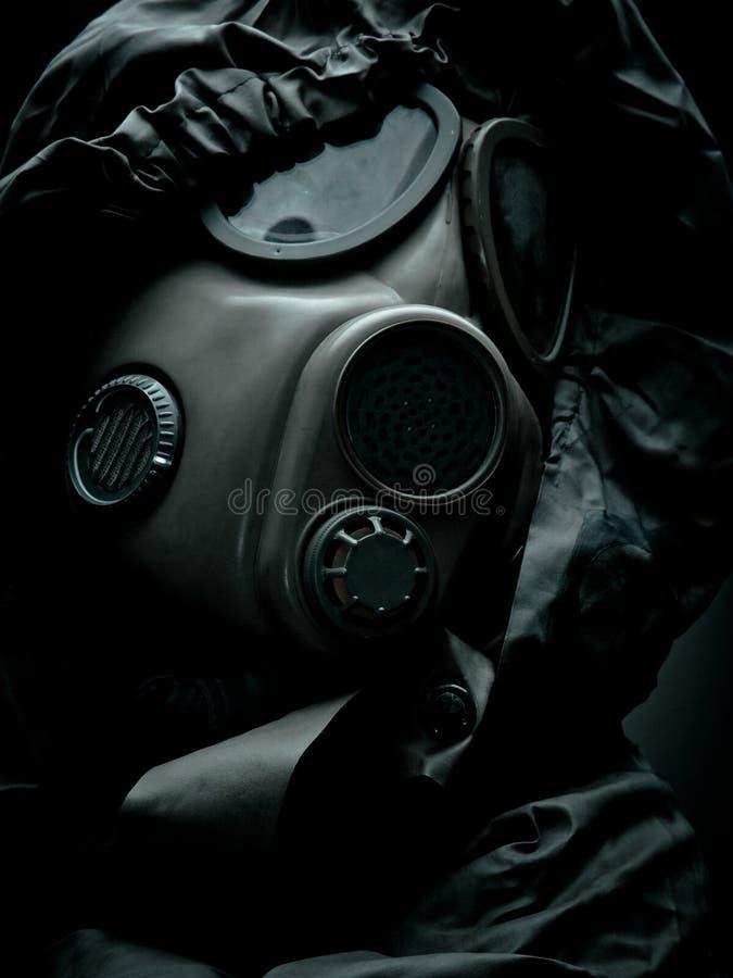 Máscara de gás 5 fotografia de stock royalty free