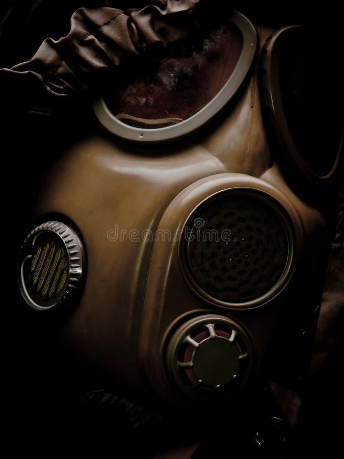 Máscara de gás 6 fotografia de stock