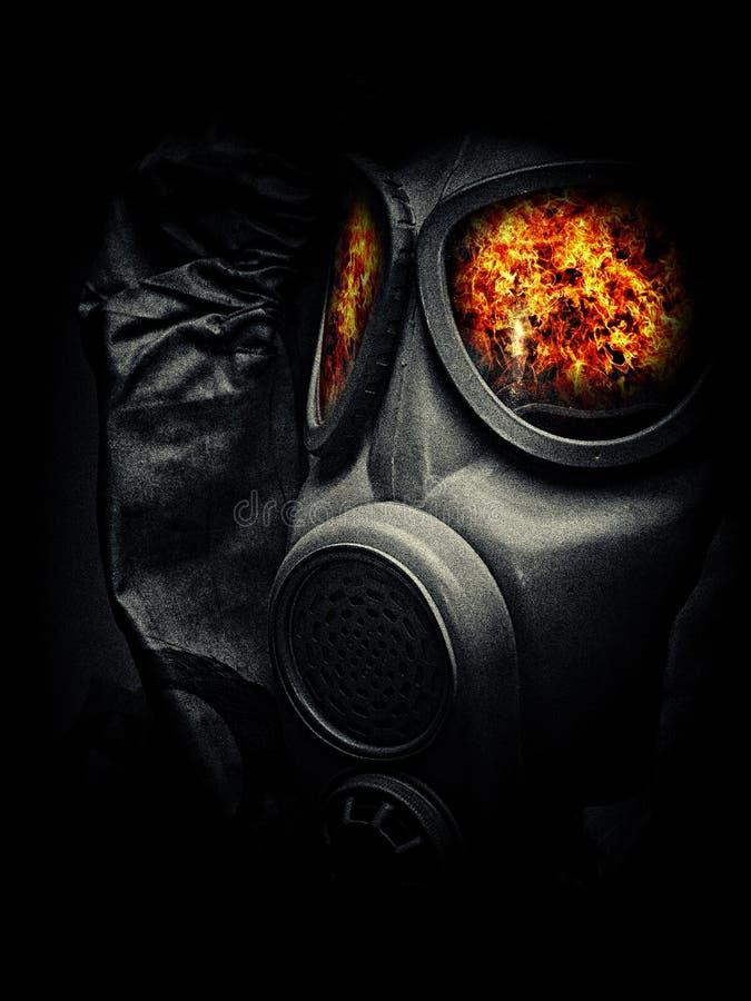 Máscara de gás 7 foto de stock royalty free