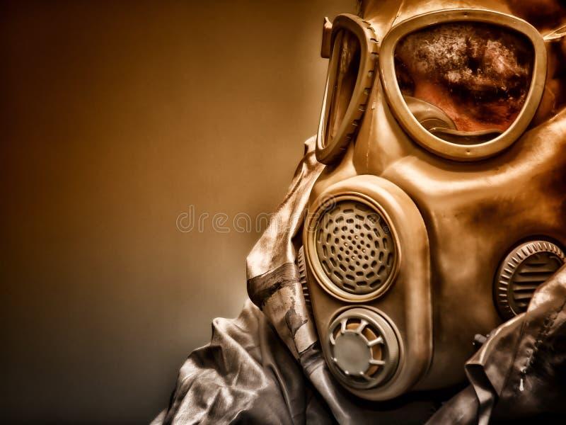Máscara de gás 8 foto de stock royalty free