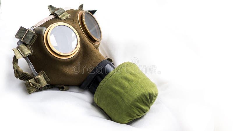 Máscara de gás M76 húngara foto de stock