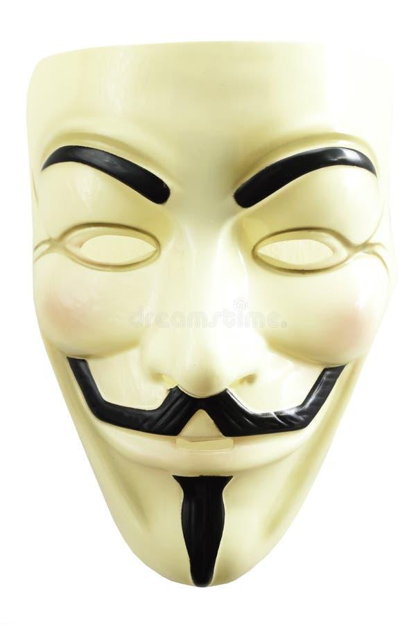Máscara de Guy Fawkes foto de stock royalty free