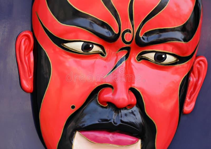 Máscara de la ópera de Pekín imagen de archivo