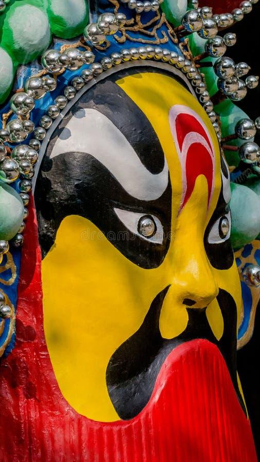 Máscara de la ópera de Pekín ilustración del vector