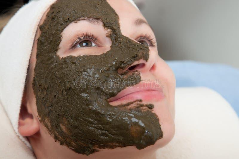 Máscara de la belleza fotos de archivo libres de regalías