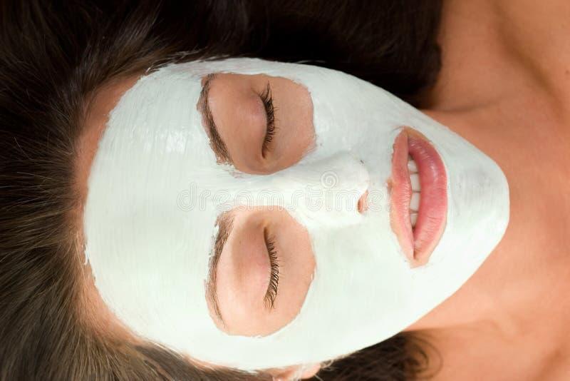 Máscara de la belleza imagen de archivo