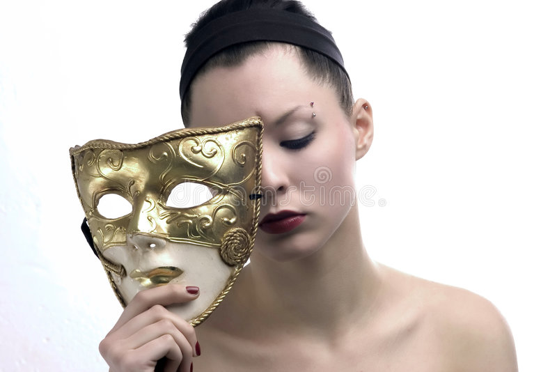 Máscara de la belleza imágenes de archivo libres de regalías