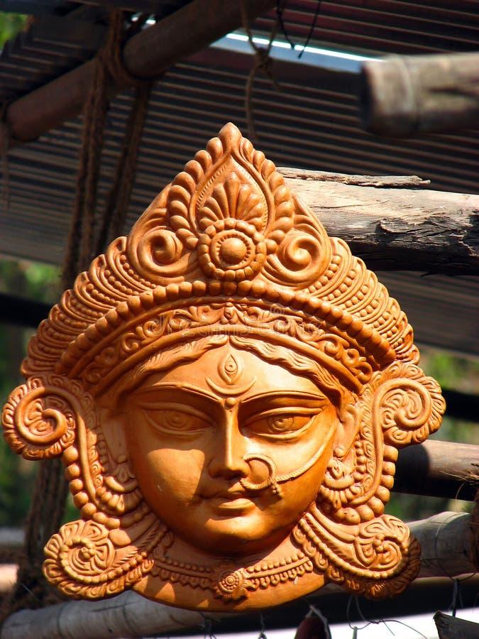 Máscara de la diosa imagenes de archivo