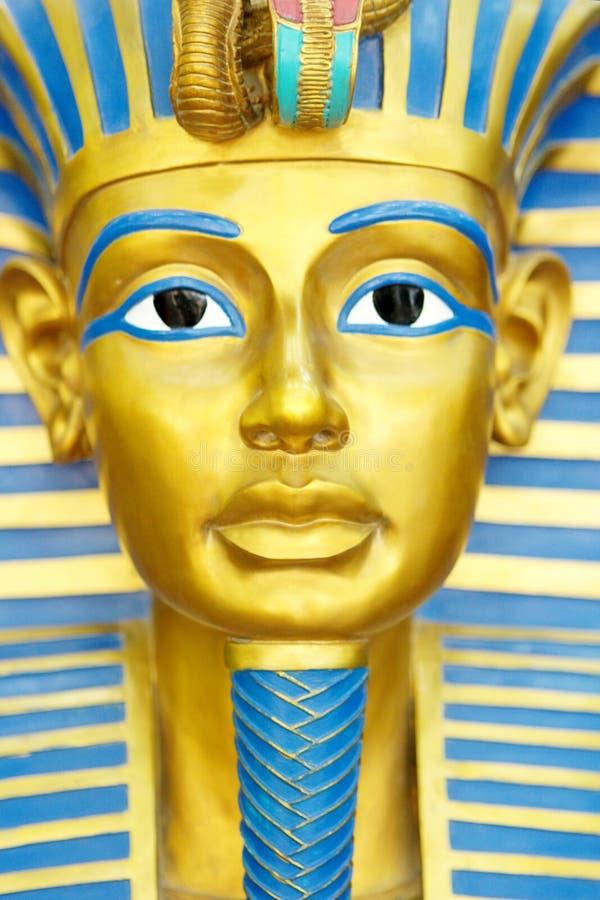 Máscara de los Pharaohs fotografía de archivo