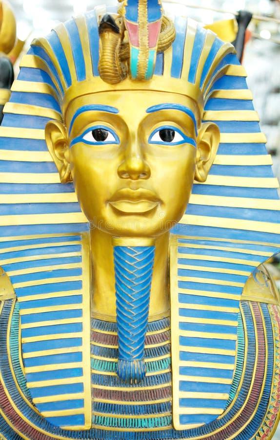 Máscara de los Pharaohs imágenes de archivo libres de regalías
