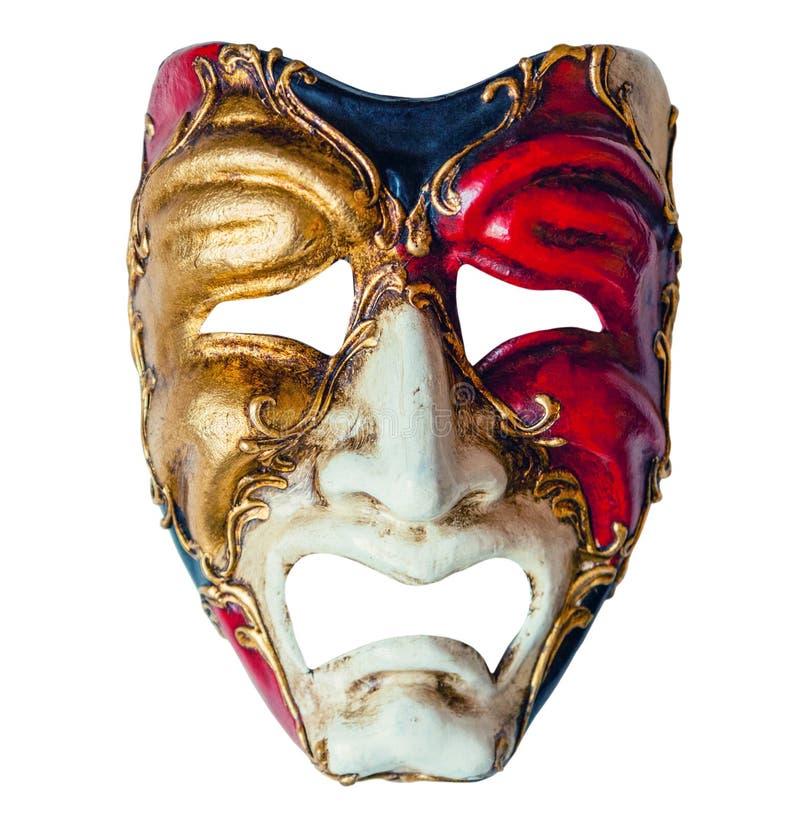 Máscara de lujo del carnaval fotos de archivo