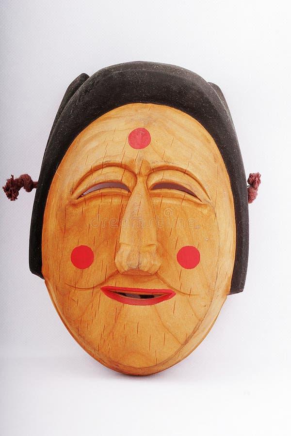 Máscara de madeira fotos de stock royalty free