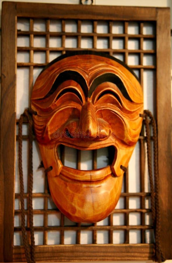 Máscara de madeira de Hahoe, Hahoetal imagem de stock