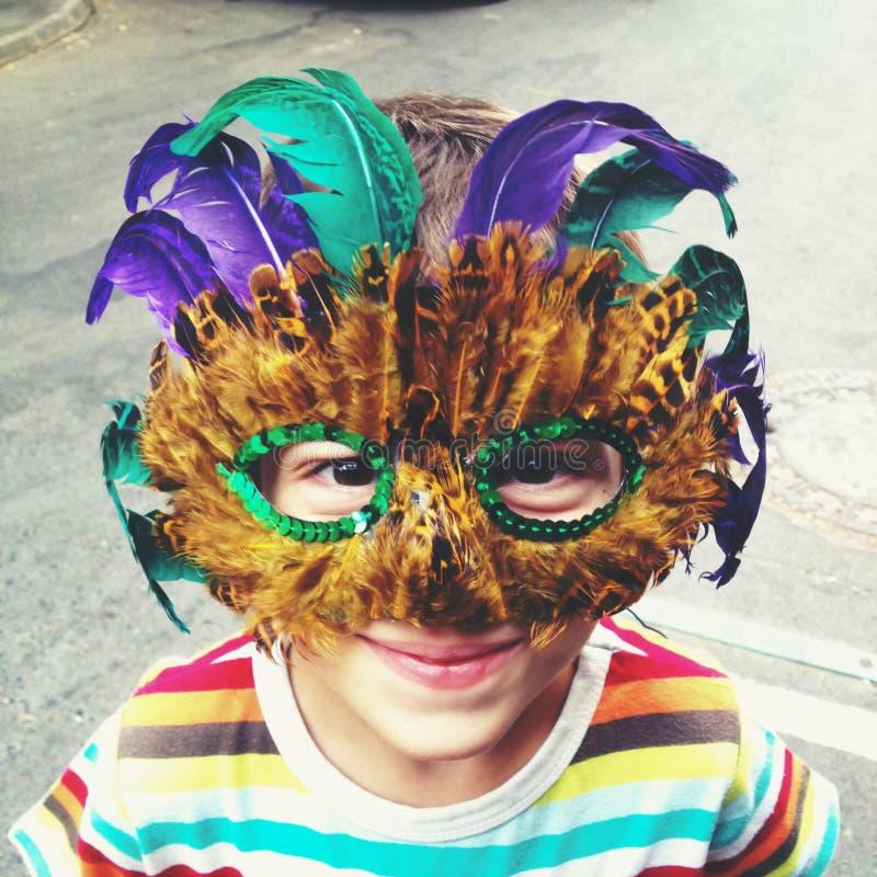 Máscara de Mardi Gras imagen de archivo libre de regalías
