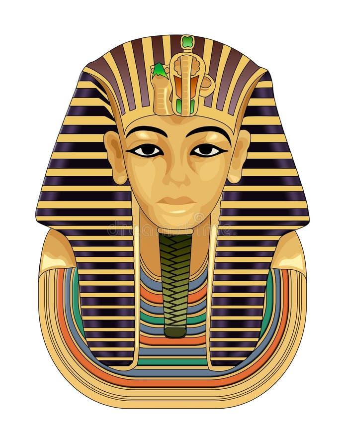 Máscara de muerte de oro del Pharaoh