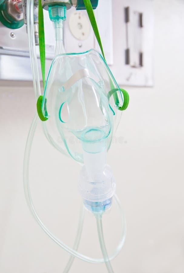 Máscara de oxígeno imagenes de archivo