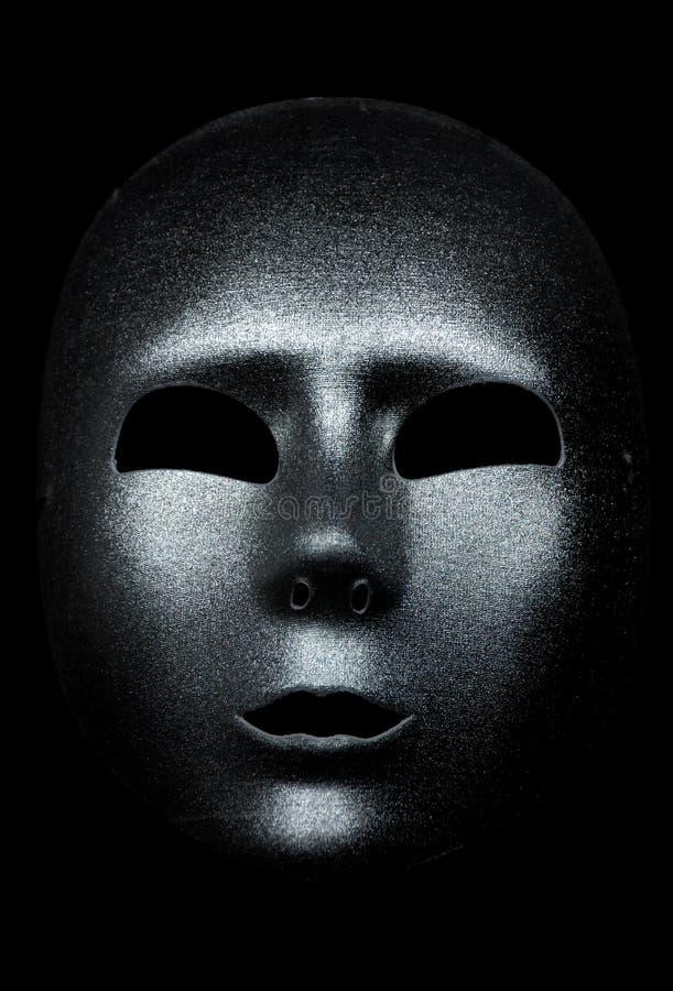 Máscara De Prata Imagens de Stock