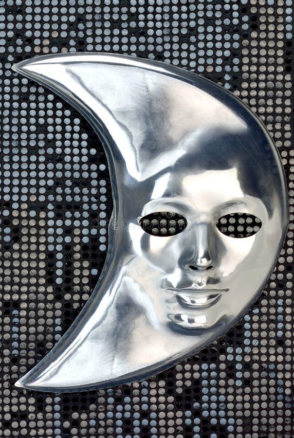 Download Máscara da lua imagem de stock. Imagem de traje, conceito - 29827643