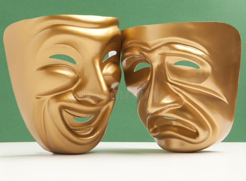 Máscara de teatro imagen de archivo libre de regalías