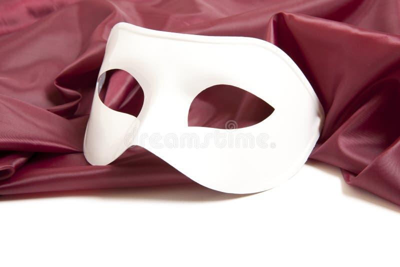 Máscara de teatro blanca foto de archivo libre de regalías