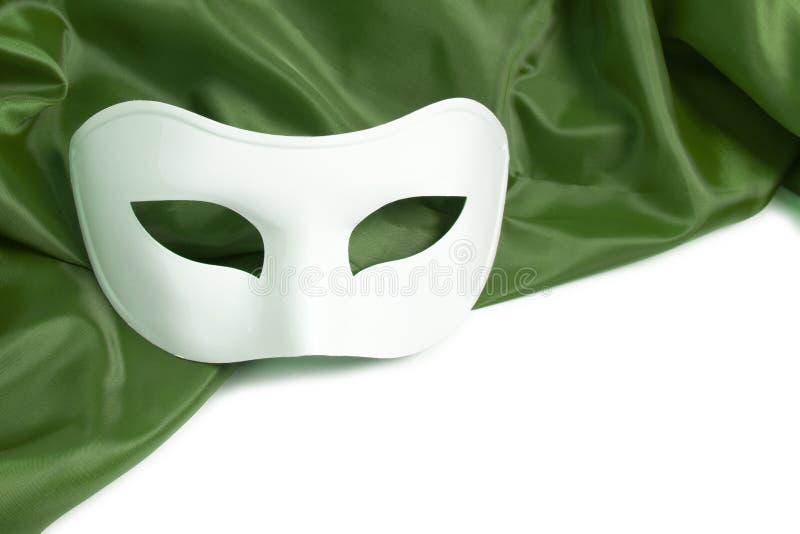 Máscara de teatro blanca foto de archivo